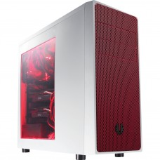BitFenix Neos Window Side Panel White/Red Color