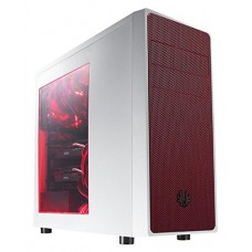 BitFenix Computer Case Cases BFC-NEO-100-WWWKR-RP White/Red