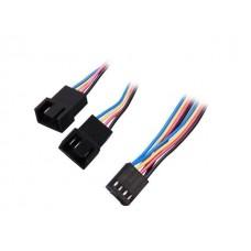 """StarTech FAN4SPLIT12 12"""" 4 Pin Fan Power Splitter Cable"""