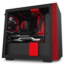 NZXT Case CA-H210B-BR H210 SGCC Steel and Tempered Glass
