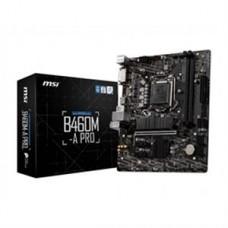 MSI MB B460M-A PRO Socket1200 i9 B460 Max64GB PCI-E DVI-D HDMI