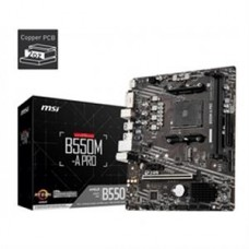 MSI Motherboard B550M-A PRO B550MAPRO AMD AM4 B550 64GB DDR4