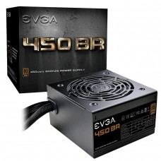 EVGA Power Supply 100-BR-0450-K1 450 BR 450W 80+BRONZE