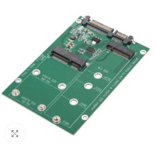 mSATA / M2 NGFF SSD to SATA Converter Combo Card M.2 2 In 1