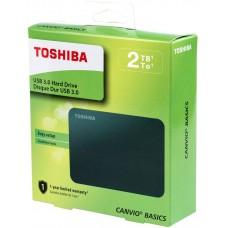 Toshiba HDTB420XK3AA Canvio Basics 2TB Portable