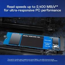 WD Blue SN550 1TB NVMe SSD 8Gb/s, M.2 2280 3D NAND,  WDS100T2B0C